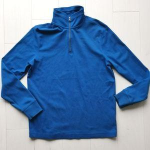NWOT cotton banana Republic 1/4 zip pullover